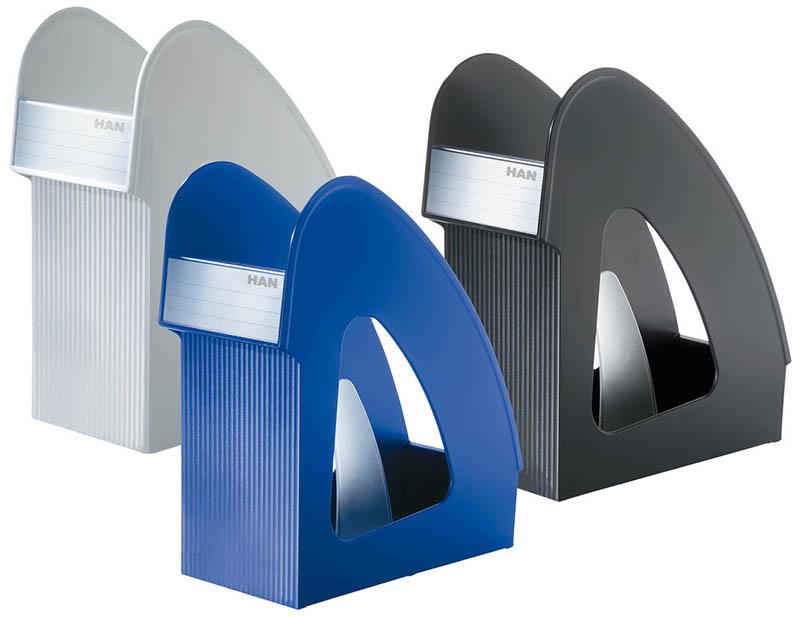 Подставка Esselte для журналов пластик серый 24250085